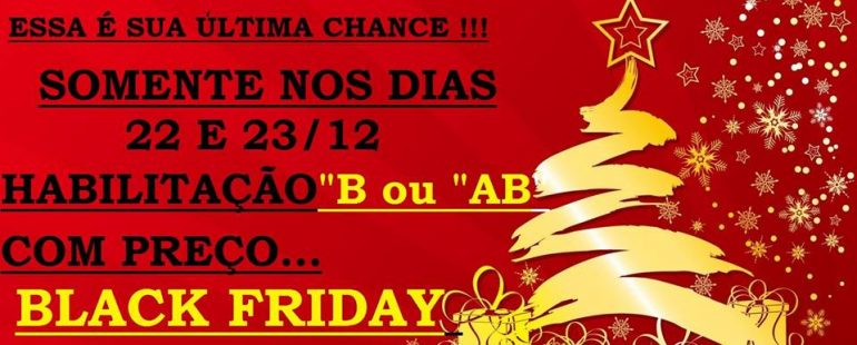 BLACK FRIDAY DE NATAL !!